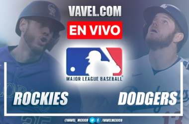 Goles y resumen del Rockies 4-10 Dodgers en MLB 2021