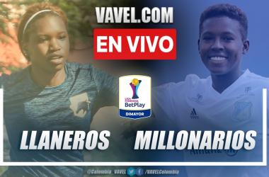Resumen: Llaneros 1-2 Millonarios en la fecha 2 del grupo A por Liga Femenina 2021