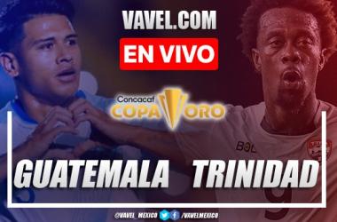 Goles y resumen del Guatemala 1-1 Trinidad y Tobago en Copa Oro 2021
