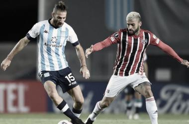 Nacho Piatti, uno de los futbolistas que el DT académico tiene en mayor consideración.