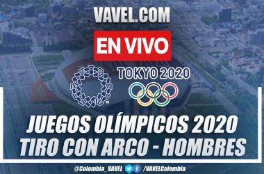 Resumen: Daniel Pineda (582 pts) en el Tiro con Arco Individual Masculino de los Juegos Olímpicos Tokio 2020