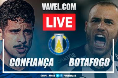 Gol e melhores momentos Confiança x Botafogopela Série B (0-1)