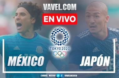 Goles y resumen del México 1-2 Japón en Tokyo 2020