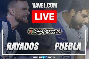 Goals and highlights:Rayados Monterrey 1-1 Pueblain Liga MX