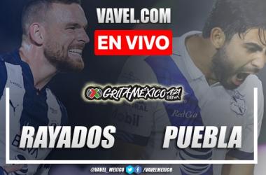 Resumen y goles:Rayados Monterrey 1-1 Pueblaen Liga MX