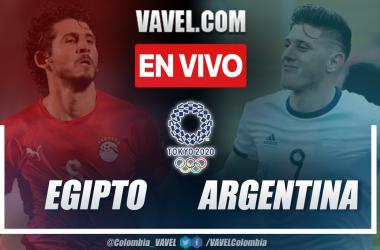 Resumen y goles: Egipto (0-1) Argentina en fecha dos de los Juegos Olímpicos Tokio 2020