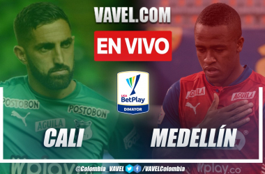 Resumen: Cali (0-0) Medellín en la fecha 2 de la Liga BetPlay 2021-II