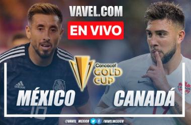 Goles y resumen del México 2-1 Canadá en Copa Oro 2021