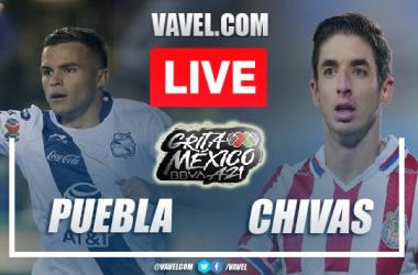 Goals and Highlights: Puebla 0-2 Chivas in Liga MX 2021