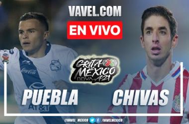 Goles y resumen del Puebla 0-2 Chivas en Liga MX 2021