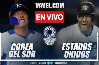 Resumen y carrera: Corea del Sur 2-4 Estados Unidos en béisbol por Juegos Olímpicos 2020