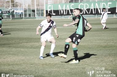 Los de Concepción no lograron romper el cero y se llevaron un punto.<div>Imagen: @CASanMartinSJ</div>