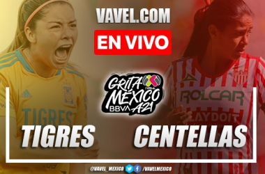 Goles y resumen del Tigres Femenil 8-1 Necaxa Femenil en Liga MX Femenil 2021