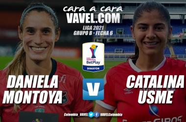 Cara a cara: Daniela Montoya vs Catalina Usme