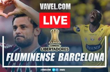 Goals and Highlights Fluminense 2-2 Barcelona Guayaquil in Copa Libertadores