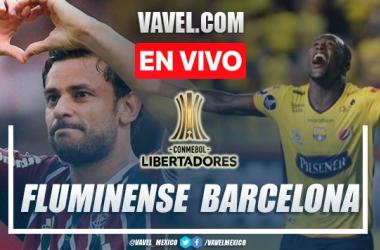 Goles y Resumen del Fluminense 2-2 Barcelona Guayaquil en Copa Libertadores
