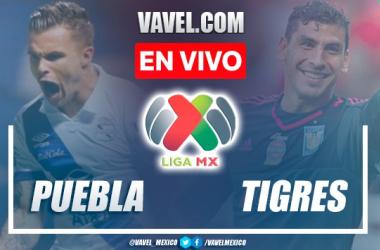 Goles y resumen del Puebla 1-1 Tigres en Liga MX 2021