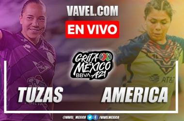 Goles y resumen del Pachuca Femenil 0-2 América Femenil en Liga MX Femenil 2021