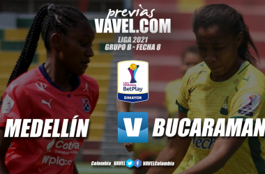Previa Medellín vs Bucaramanga: juego clausura de la octava fecha del grupo B