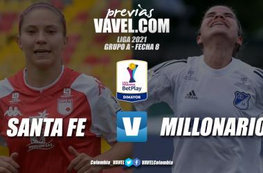 Previa Independiente Santa Fe vs. Millonarios: el partido para asegurar la clasificación