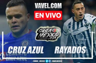 Goles y resumen del Cruz Azul 1-1 Rayados Monterrey en Liga MX 2021