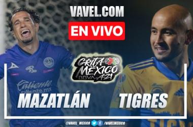 Goles y resumen del Mazatlán 0-3 Tigres en Liga MX 2021