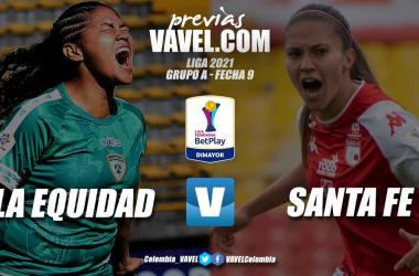 Previa La Equidad vs Santa Fe: victoria necesaria para asegurar el segundo lugar del Grupo A