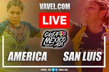 Goals and Highlights: America Femenil 4-0 San Luis Femenil in Liga MX Femenil 2021