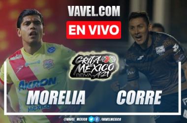 Goles y resumen del Atlético Morelia 2-1 Correcaminos en Liga Expansión MX 2021