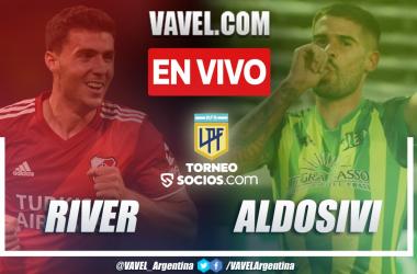 Resumen: River Plate (2-0) Aldosivi en la fecha 8 del Torneo Socios 2021