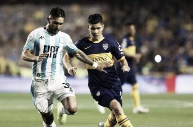 El último encuentro en La Bombonera fue por la Superliga 2019/2020 con victoria de Racing 0-1. (Foto: Web)