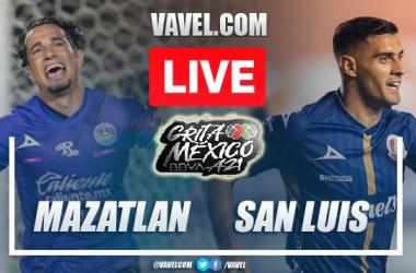 Goals and Highlights: Mazatlan 2-2 Atletico San Luis  in Liga MX 2021