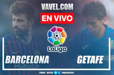 Goles y resumen Barcelona 2-1 Getafe en LaLiga
