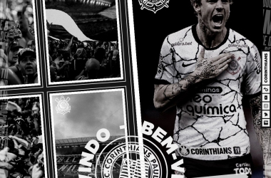 Corinthians anuncia oficialmente contratação do atacante Roger Guedes