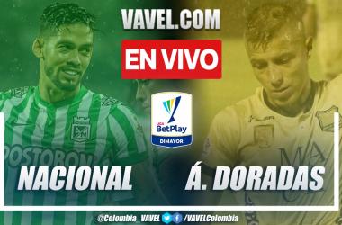 Resumen y goles: Atlético Nacional 1-1 Águilas Doradas en la fecha 7 por Liga BetPlay 2021-II