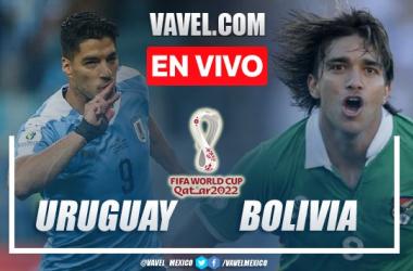Goles y resumen del Uruguay 4-2 Bolivia en Eliminatorias Qatar 2022