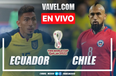 Goles y resumen del Ecuador 0-0 Chile en Eliminatorias de la Copa del Mundo 2021