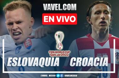 Goles y resumen Eslovaquia 0-1 Croacia en eliminatorias Qatar 2022