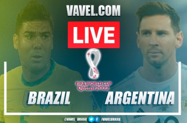 CANCELLED GAME: Brazil vs Argentina for World Cup 2022 Qualification