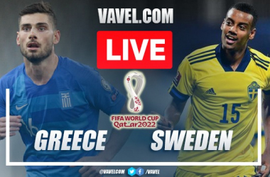Goals and Highlights: Greece 2-1 Sweden in FIFA 2022 World Cup Qualifiers