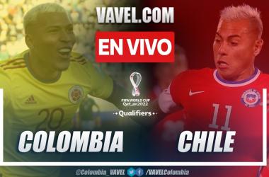 Resumen: Colombia 3-1 Chile en las Eliminatorias Catar 2022