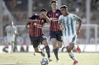 El último cotejo en el que ambos equipos se vieron las caras fue el 9 de Mayo de este año, encuentro en el que Racing derrotó al San Lorenzo 2-0 en el Cilindro. (Foto: Web)