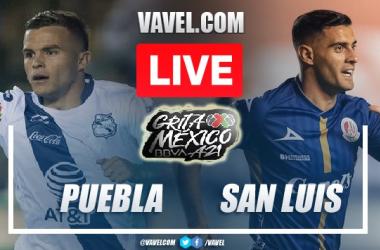 Goals and Highlights of Puebla 2-2 Atletico de San Luis on Liga MX Matchday 8