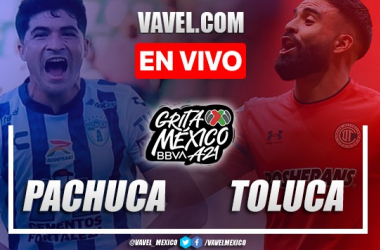 Goles y resumen del Pachuca 1-2 Toluca en Liga MX 2021