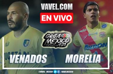 Goles y resumen del Venados 0-1 Atlético Morelia en Liga Expansión MX 2021