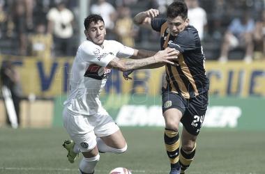 Último encuentro entre San Lorenzo y Rosario Central en el Gigante de Arroyito.