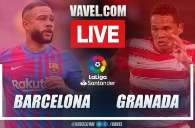 Highlights and goals: FC Barcelona 1-1 Granada CF in La Liga 2021-22