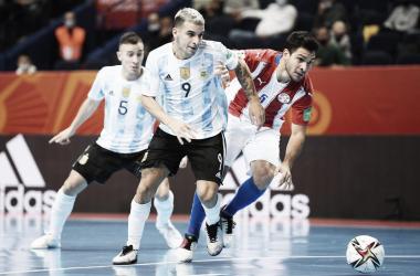 Argentina golea y accede a los cuartos de final. Foto: Selección Argentina.