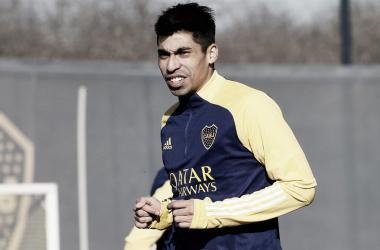 Juan Ramírez entrenando (Foto: Prensa CABJ)