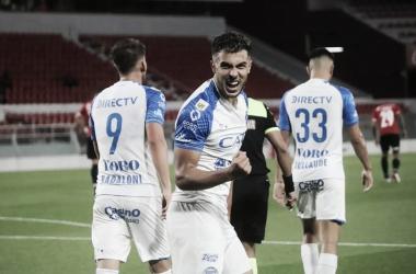 Martín Ojeda, goleador de Godoy Cruz. Foto: Prensa CDGCAT.